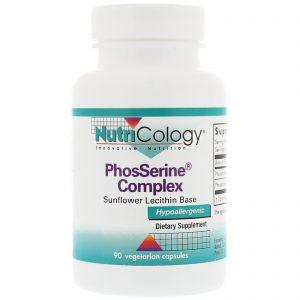 Nutricology, Complexo PhosSerine, 90 Cápsulas Vegetarianas   Comprar Suplemento em Promoção Site Barato e Bom