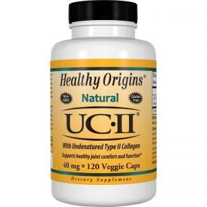 Healthy Origins, Healthy Origins, Natural, UC-II com Colágeno Não Desnaturado Tipo II, 40 mg, 120 Cápsulas Vegetais   Comprar Suplemento em Promoção Site Barato e Bom