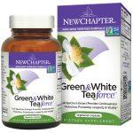 New Chapter, Força de Chá verde e branco, 60 cápsulas vegetarianas   Comprar Suplemento em Promoção Site Barato e Bom