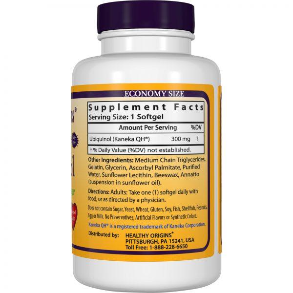 Healthy Origins, Ubiquinol (Kaneka Q+), 300 mg, 150 Cápsulas Gelatinosas   Comprar Suplemento em Promoção Site Barato e Bom