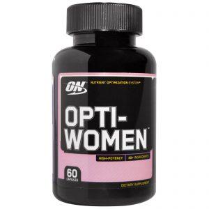 Optimum Nutrition, Opti-Women, Sistema de Otimização de Nutrientes, 60 Cápsulas   Comprar Suplemento em Promoção Site Barato e Bom