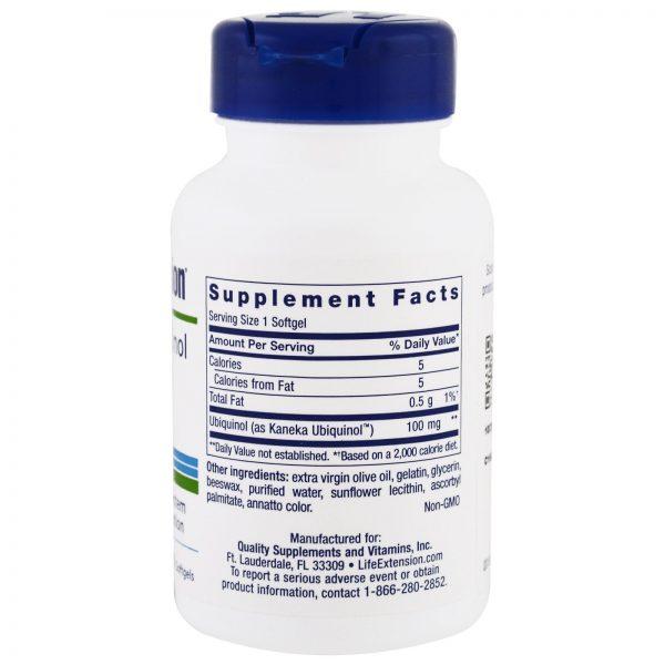 Life Extension, Super Ubiquinol, CoQ10, 100 mg, 60 Cápsulas Gelatinosas   Comprar Suplemento em Promoção Site Barato e Bom