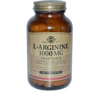 Solgar, L-arginina, 1000 mg, 90 Tabletes   Comprar Suplemento em Promoção Site Barato e Bom