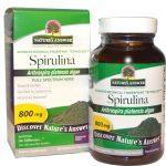 Nature's Answer, Spirulina, 800 mg, 90 Cápsulas Vegetais   Comprar Suplemento em Promoção Site Barato e Bom