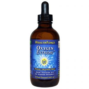 HealthForce Superfoods, Oxygen Extreme, 4 fl oz (118.2 ml)   Comprar Suplemento em Promoção Site Barato e Bom