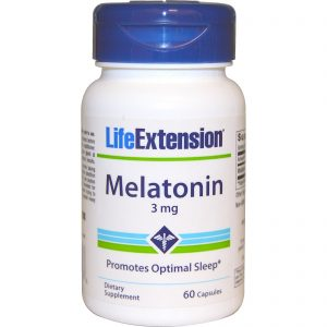 Life Extension, Melatonina, 3 mg, 60 cápsulas   Comprar Suplemento em Promoção Site Barato e Bom