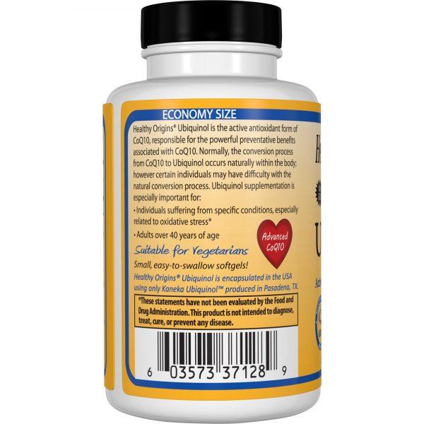 Healthy Origins, Ubiquinol, Natural, 100 mg, 150 Géis Macios Veganos   Comprar Suplemento em Promoção Site Barato e Bom