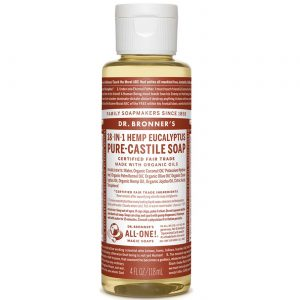 Dr Bronner Eucalyptus Pure Castela sabão Eucalpytus 4 fl oz   Comprar Suplemento em Promoção Site Barato e Bom