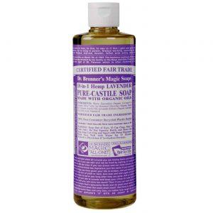 Dr Bronner Óleo de lavanda Pure Lavender Castela Soap 16 fl oz   Comprar Suplemento em Promoção Site Barato e Bom