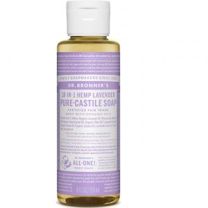Dr Bronner Óleo de lavanda Pure Lavender Castela sabão 4 fl oz   Comprar Suplemento em Promoção Site Barato e Bom