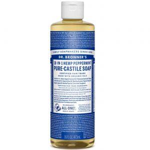 Dr Bronner Hortelã-pimenta Oil Pure Castela Soap Hortelã-pimenta 16 fl oz   Comprar Suplemento em Promoção Site Barato e Bom