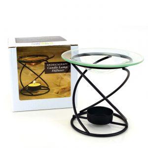 Aura Cacia Difusor da lâmpada Spirl Candl 6,090 Oz   Comprar Suplemento em Promoção Site Barato e Bom