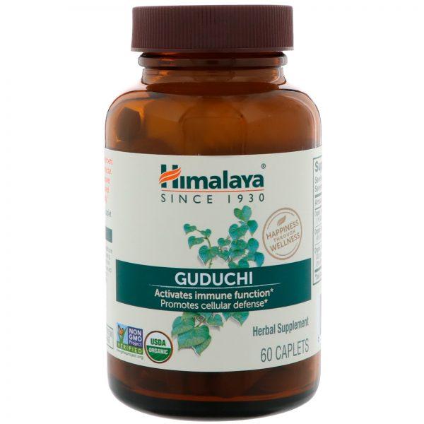 Himalaya, Guduchi, 60 Comprimidos   Comprar Suplemento em Promoção Site Barato e Bom
