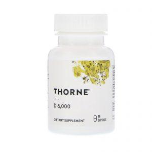 Thorne Research, D-5.000, 60 Cápsulas   Comprar Suplemento em Promoção Site Barato e Bom
