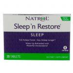 Natrol, Sleep 'n Restore, 20 comprimidos   Comprar Suplemento em Promoção Site Barato e Bom