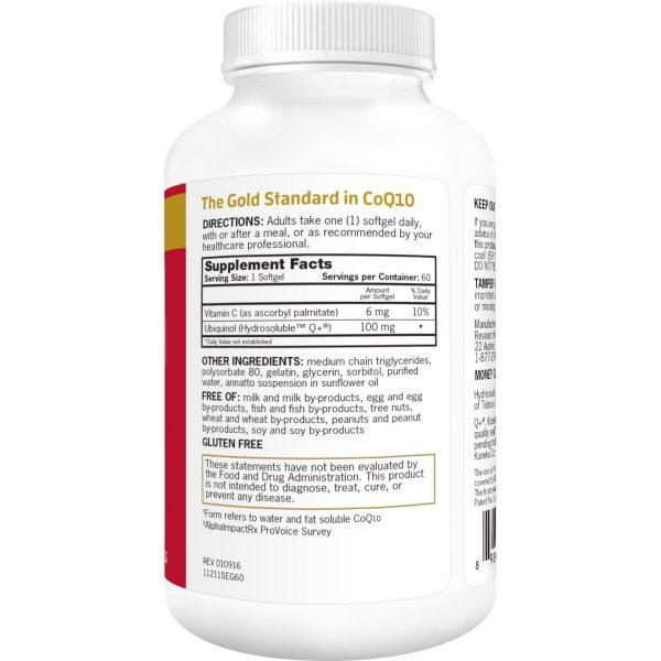 Qunol, Mega CoQ10 Ubiquinol, 100 mg, 60 Cápsulas de Softgel   Comprar Suplemento em Promoção Site Barato e Bom