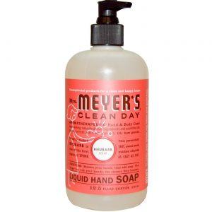 Mrs Meyers Clean Day Sabonete Liq Ruibarbo 12.500 Oz   Comprar Suplemento em Promoção Site Barato e Bom