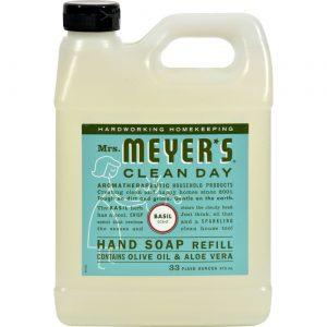 Mrs Meyers Clean Day Sabonete Refil Liq Basil 33.000 Oz   Comprar Suplemento em Promoção Site Barato e Bom