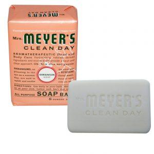 Mrs Meyers Clean Day Soap Bar Geramium 8.000 Oz   Comprar Suplemento em Promoção Site Barato e Bom