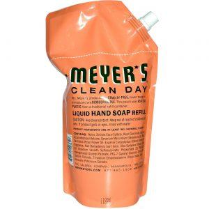 Mrs Meyers Clean Day Sabonete Liq Rfl Geranium 34.000 Oz   Comprar Suplemento em Promoção Site Barato e Bom