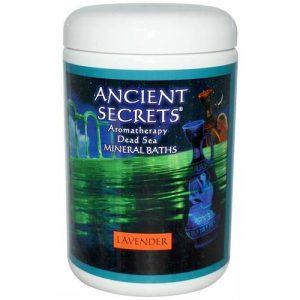 ancient Secrets Lavender Morto Banho Sais Marinhos 1 LB   Comprar Suplemento em Promoção Site Barato e Bom