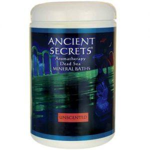 ancient Secrets Unscented Morto Banho Sais Marinhos 1 LB   Comprar Suplemento em Promoção Site Barato e Bom