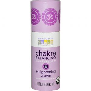 aura Cacia Chakra Balance ilumina Crown 0,31 OZ   Comprar Suplemento em Promoção Site Barato e Bom