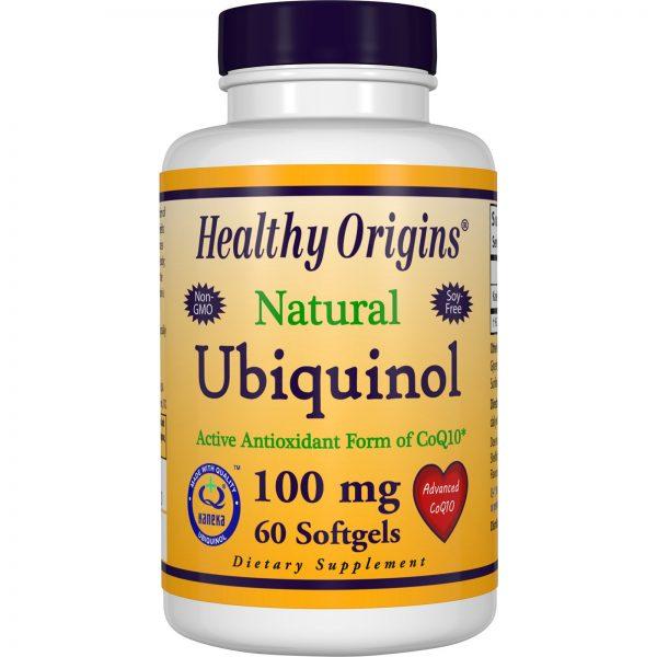 Healthy Origins, Ubiquinol, Kaneka Q+, 100 mg, 60 Softgels   Comprar Suplemento em Promoção Site Barato e Bom