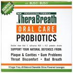TheraBreath, Probióticos para higiene bucal , Sabor cítrico, 8 pastilhas sem açúcar   Comprar Suplemento em Promoção Site Barato e Bom