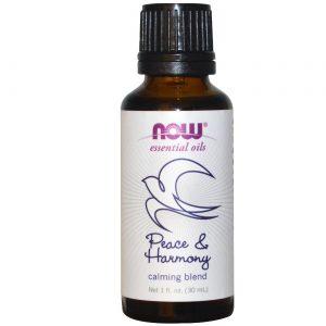 Now Foods Peace & Harmony / Calming mistura de óleo 1 OZ uma onça   Comprar Suplemento em Promoção Site Barato e Bom