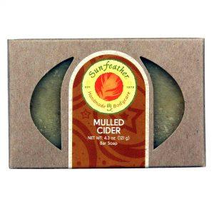 Sunfeather Mulled Soap Cider 4,3 onças   Comprar Suplemento em Promoção Site Barato e Bom