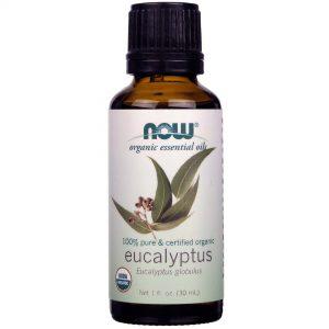 Óleo Essencial Orgânico Now Foods Eucalipto 30 ml   Comprar Suplemento em Promoção Site Barato e Bom