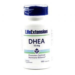 DHEA 15 mg Life Extension 100 Cápsulas   Comprar Suplemento em Promoção Site Barato e Bom