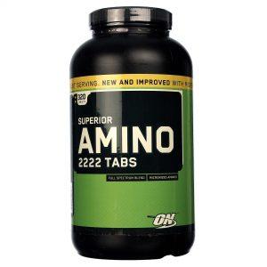Superior Amino 2222 Optimum Nutrition 320 Tabletes   Comprar Suplemento em Promoção Site Barato e Bom