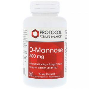 Protocol for Life Balance, D-Manose, 500 mg, 90 Cápsulas Vegetais   Comprar Suplemento em Promoção Site Barato e Bom