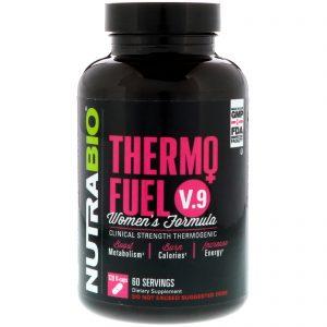 NutraBio Labs, ThermoFuel V.9 Women's Formula, 120 Vegetable Capsules   Comprar Suplemento em Promoção Site Barato e Bom