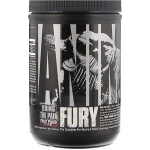Universal Nutrition, Animal Fury, Fruit Punch, 491.4 g   Comprar Suplemento em Promoção Site Barato e Bom