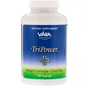 Vaxa International, TriPower, Weight Formula + Diet Plan, 180 VegCaps   Comprar Suplemento em Promoção Site Barato e Bom