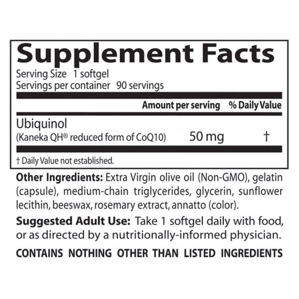 Doctor's Best, Best Ubiquinol, Com QH da Kaneka, 50 mg, 90 Cápsulas de Softgel   Comprar Suplemento em Promoção Site Barato e Bom