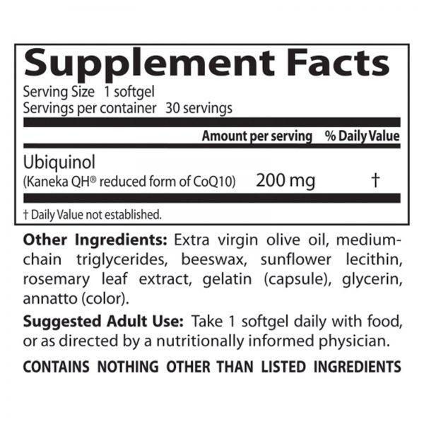 Doctor's Best, Melhor Ubiquinol, com QH de Kaneka, 200 mg, Cápsulas 30 Softgels   Comprar Suplemento em Promoção Site Barato e Bom