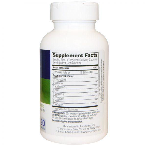 Enzymedica, Pro-Bio, Potência Probiótica Garantida, 90 Cápsulas   Comprar Suplemento em Promoção Site Barato e Bom
