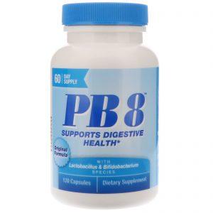 Nutrition Now, PB8, Fórmula original, 120 cápsulas   Comprar Suplemento em Promoção Site Barato e Bom