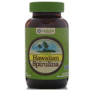Nutrex Hawaii, Pure Hawaiian Spirulina, 500 mg, 400 Tablets   Comprar Suplemento em Promoção Site Barato e Bom