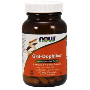 Gr8-Dophilus Now Foods 60 Cápsulas Vegetarianas   Comprar Suplemento em Promoção Site Barato e Bom