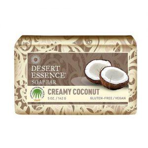 Desert Essence Cremoso de coco Bar Soap 5 Oz   Comprar Suplemento em Promoção Site Barato e Bom