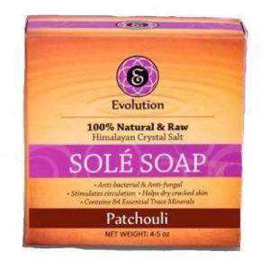 Evolution Salt Sole Soap, Patchouli - 4.5 oz   Comprar Suplemento em Promoção Site Barato e Bom