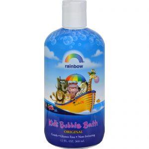 Rainbow Research Organic Herbal Bubble Bath For Kids Original Scent - 12 Fl Oz   Comprar Suplemento em Promoção Site Barato e Bom