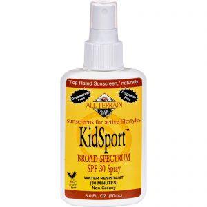 All Terrain Kid Sport Sunscreen Spf 30 - 3 Fl Oz   Comprar Suplemento em Promoção Site Barato e Bom