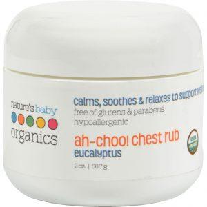 Nature's Baby Organics Ah-choo Chest Rub Eucalyptus - 2 Oz   Comprar Suplemento em Promoção Site Barato e Bom