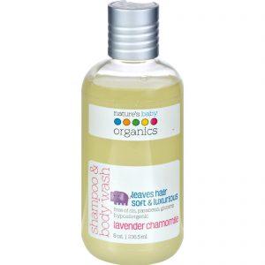 Nature's Baby Organics Shampoo And Body Wash Lavender Chamomile - 8 Fl Oz   Comprar Suplemento em Promoção Site Barato e Bom